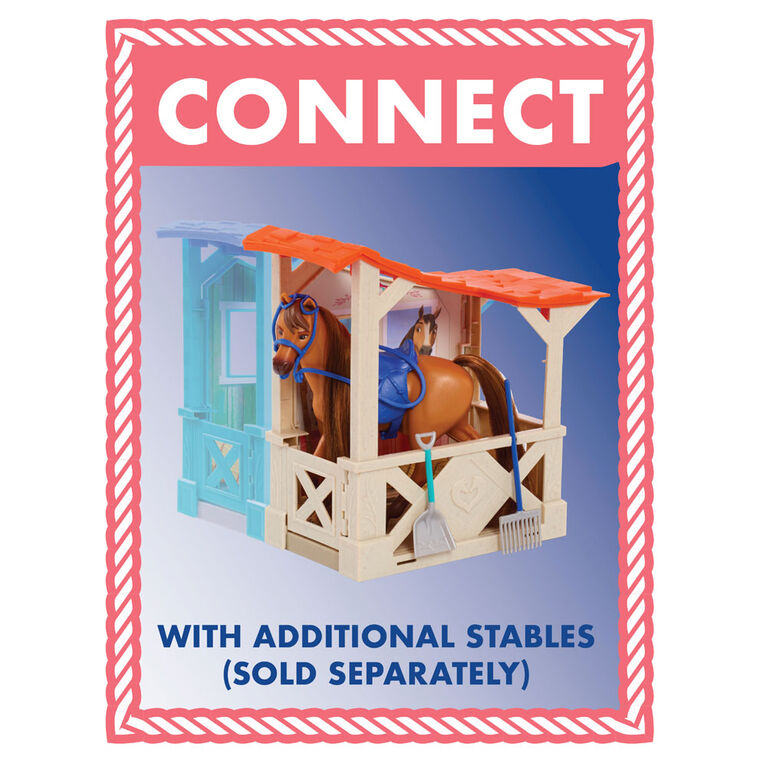 Spirit Riding Free Collector Series Stable and Horse Accessory Set