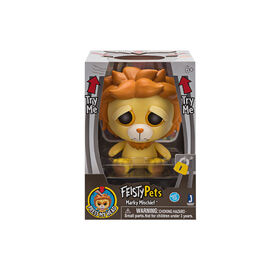 "Feisty Pets 4 ""Vinyl - Markie Mischief le Lion."