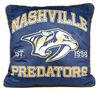 Coussin d'équipe de la LNH - Nashville Predateurs