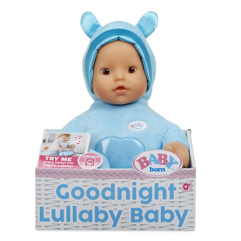 Poupée BABY born Goodnight Lullaby Baby  - garçon.