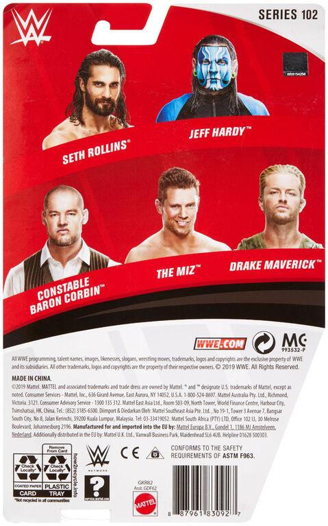 "WWE ""constable"" Baron Corbin Action Figure"