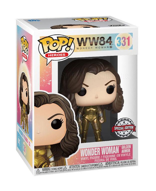 Figurine en Vinyle Wonder Woman par Funko POP! WW84 - Notre exclusivité