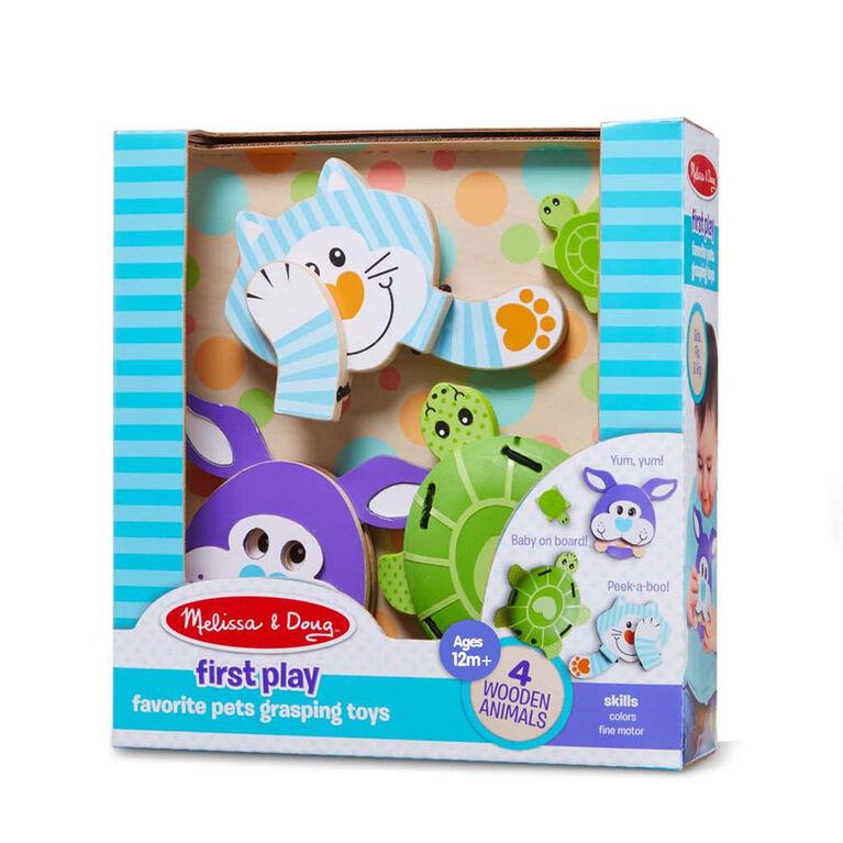Melissa & Doug Safari & Pets Grasping Toys Assortment
