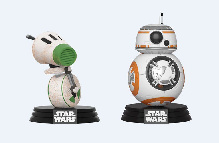 Funko POP! 2-Pack Star Wars: Rise of Skywalker - D-O & BB-8 - R Exclusive