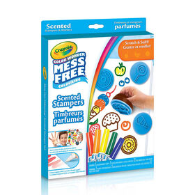 Crayola - Color Wonder Scented Stampers & Markers Kit