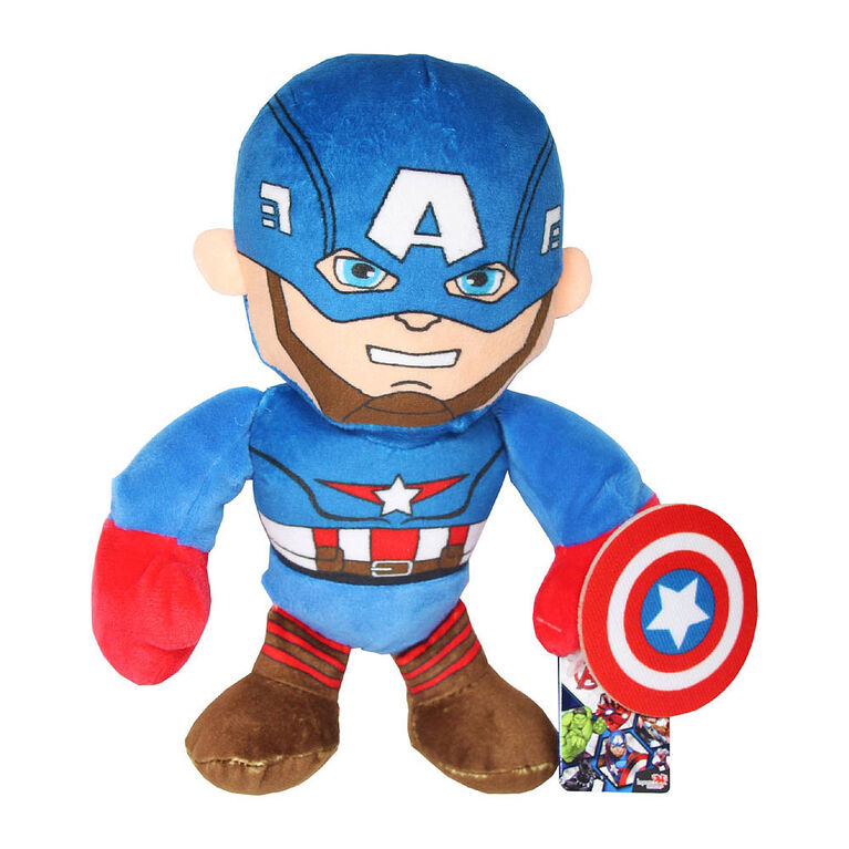 Assortiment de peluches de 11 pouces Disney Avengers Marvel.