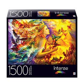 1500-Piece Intense Color Jigsaw Puzzle - Fantastic Colorful World