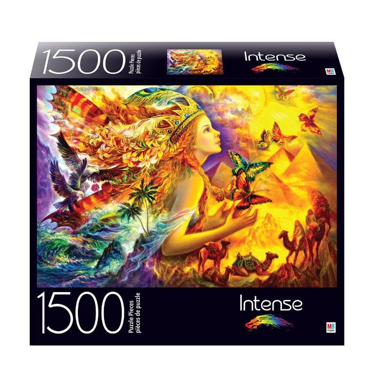 1500-Piece Intense Color Jigsaw Puzzle - Fantastic Colorful World