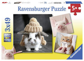 Ravensburger: Fun Animal Portraits casse-tête (49 pc)