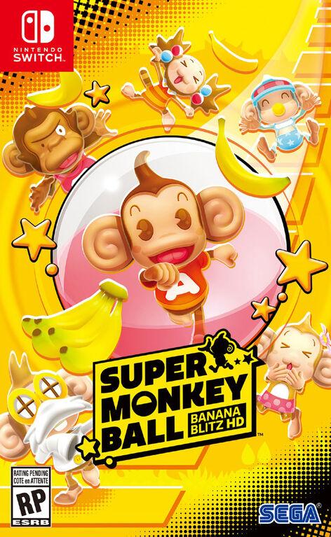 Nintendo Switch Super Monkey Ball Banana Blitz