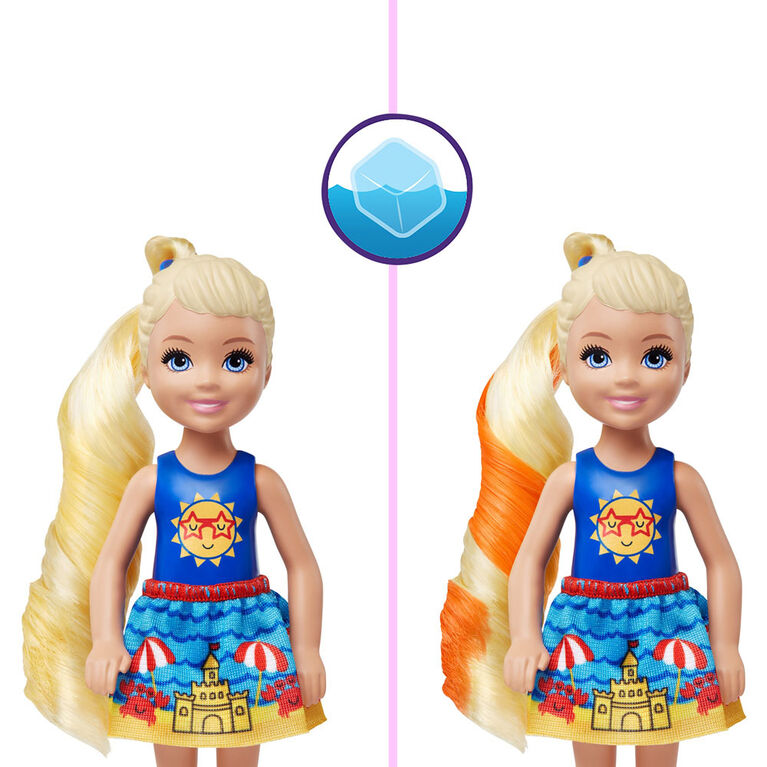 Barbie Color Reveal Chelsea Doll with 6 Surprises - Styles May Vary