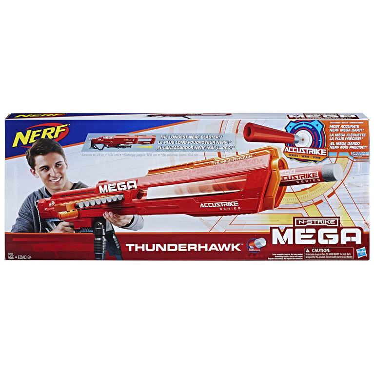 Nerf N-Strike Mega - Foudroyeur Thunderhawk Série AccuStrike