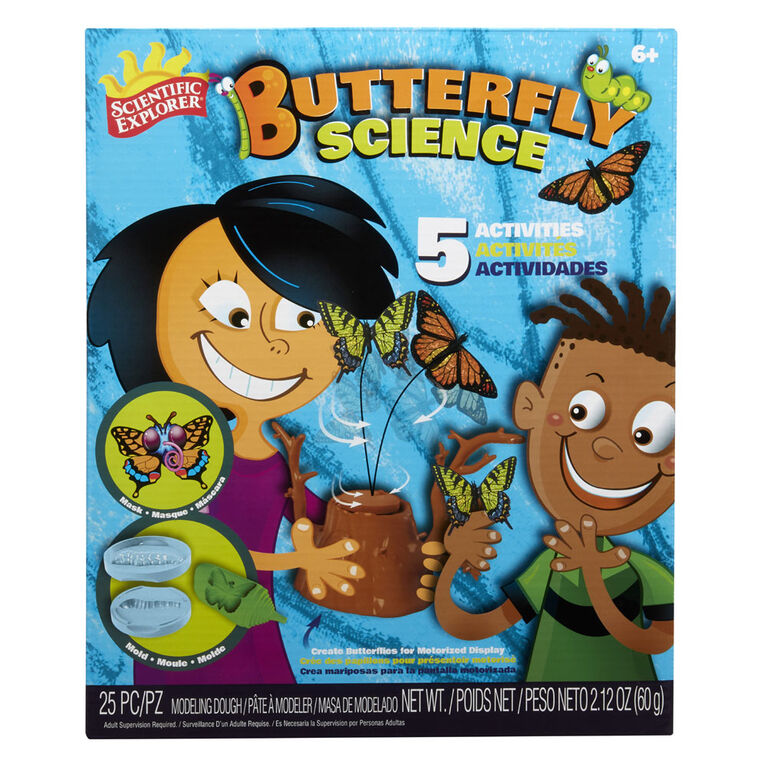 Scientific Explorer Butterfly Science