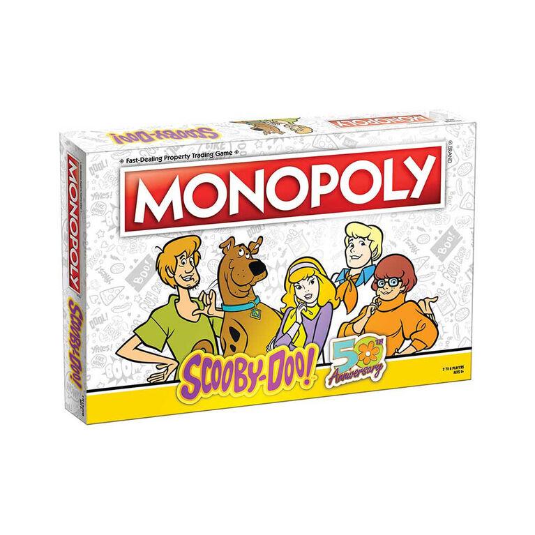 MONOPOLY: Scooby-Doo Jeu De Plateau - Édition anglaise