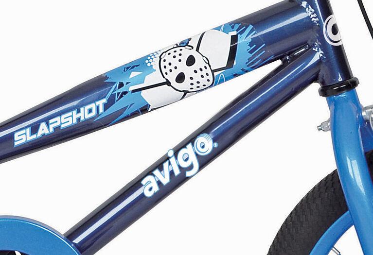 Avigo Slap Shot Bike with Helmet - 16 inch