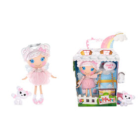 """Lalaloopsy Doll - Cloud E. Sky with Pet Poodle, 13"""" angel doll"""