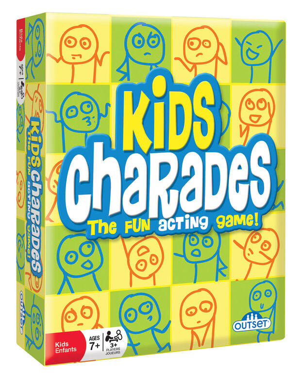 Kids Charades Game - English Edition
