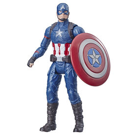 Marvel Avengers: Captain America 6-Inch-Scale Action Figure.