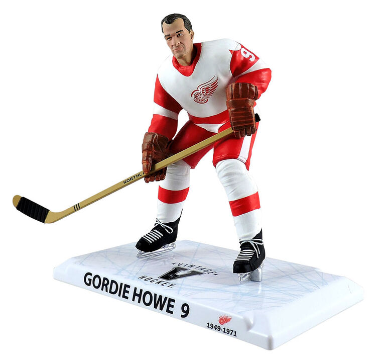 "Gordie Howe Detroit Red Wings NHL Legend 6"" Figure"