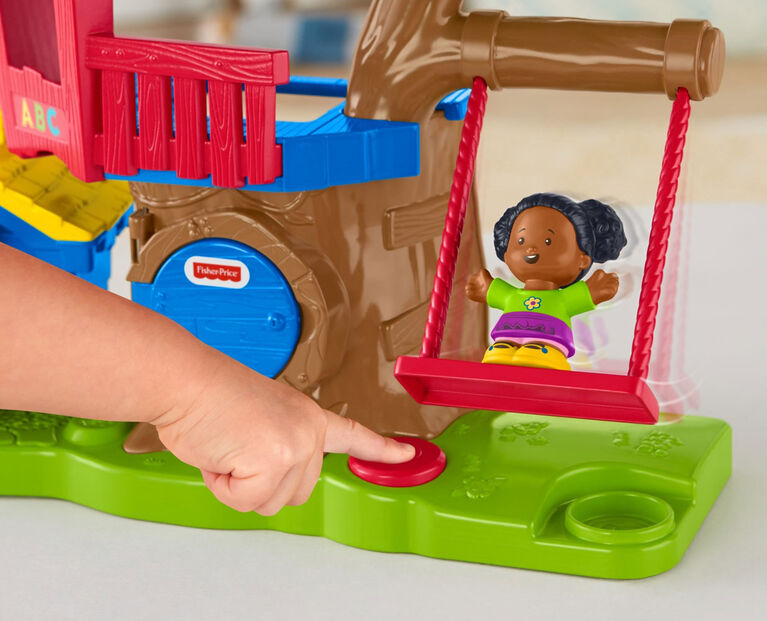 Fisher-Price Little People Swing & Share Treehouse - English Edition