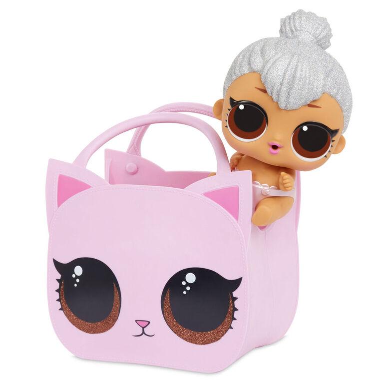 L.O.L. Surprise! Ooh La La Baby Surprise Lil Kitty Queen with Purse & Makeup Surprises