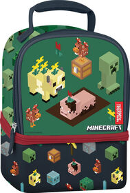 Minecraft Thermos Dual Lunch Box