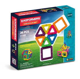 Magformers Neon 26 Pieces Set