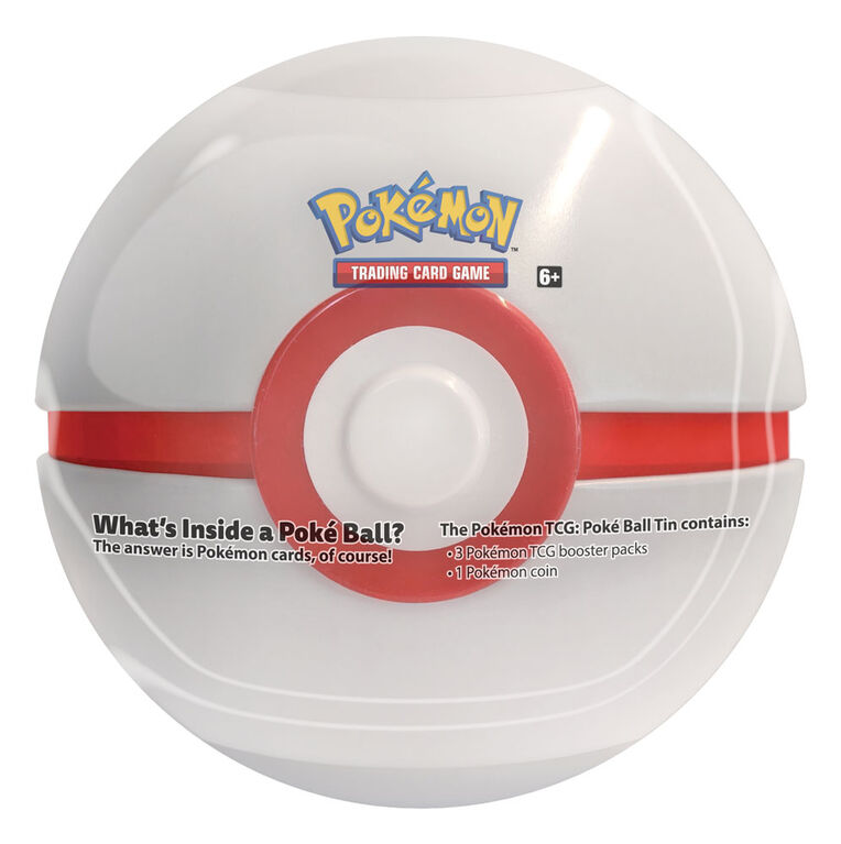 Pokemon TCG: Pokeball Tin - Premier