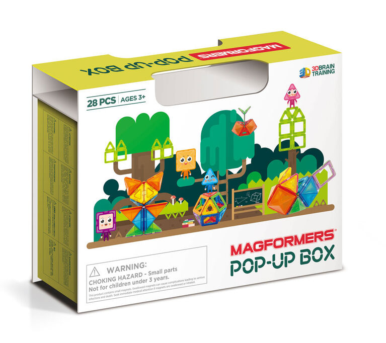 Magformers Pop-Up Travel 28 Pieces Box Set