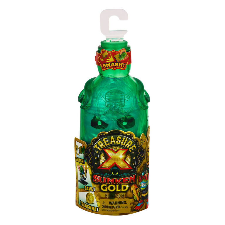 Treasure X Sunken Gold - Bottle