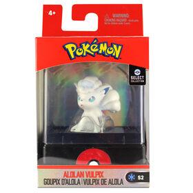 """Pokémon Select 2"""" Figure with Case - Aloan Vulpix"""