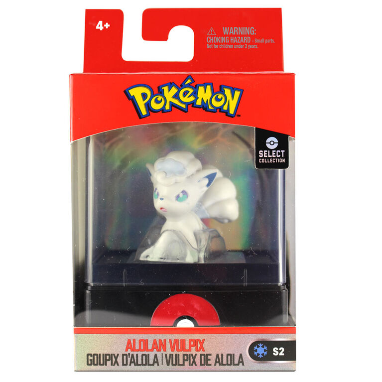 "Pokémon Select 2"" Figure with Case - Aloan Vulpix"