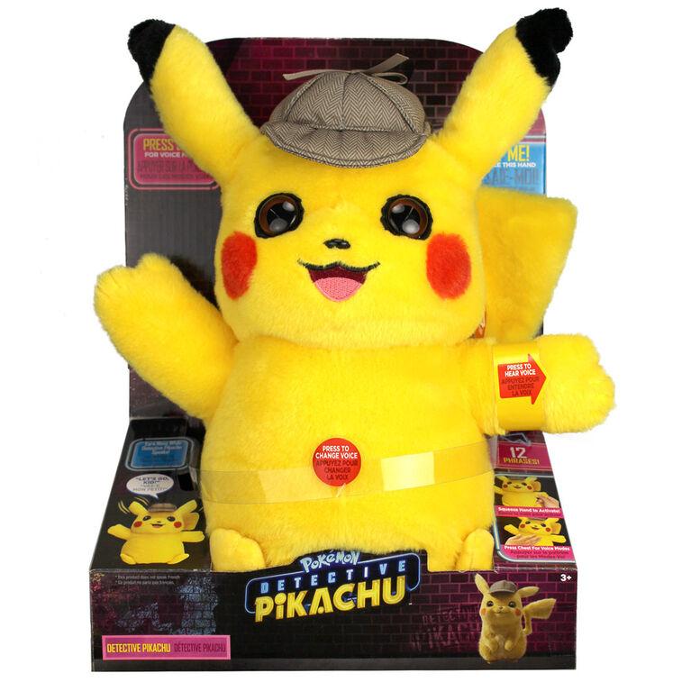 Pokémon Detective Pikachu Movie Feature Plush