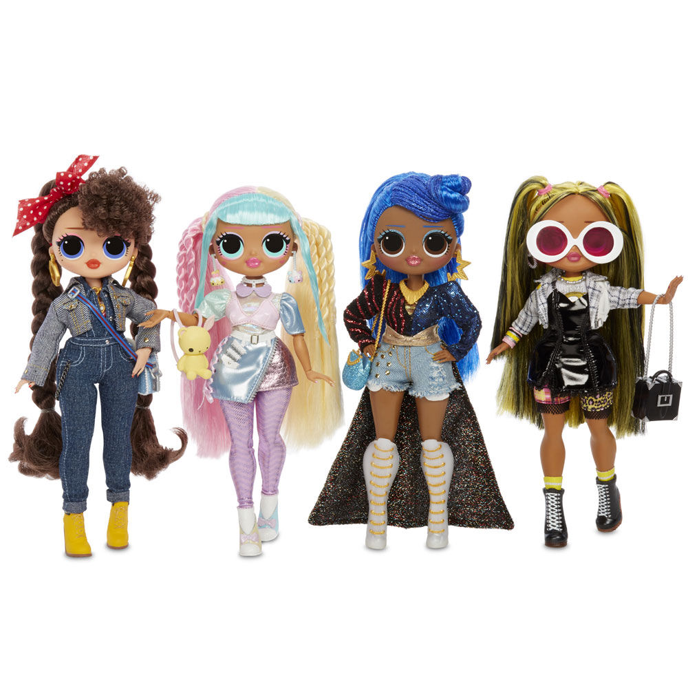 OMG alt GRRRL Fashion Doll with 20 Surprises FREE 2 DAY SHIPPING! LOL Surprise