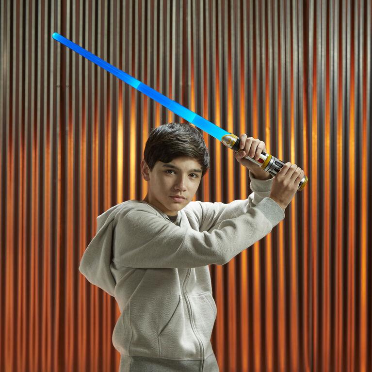 Star Wars Bladebuilders Force Master Lightsaber - French Edition
