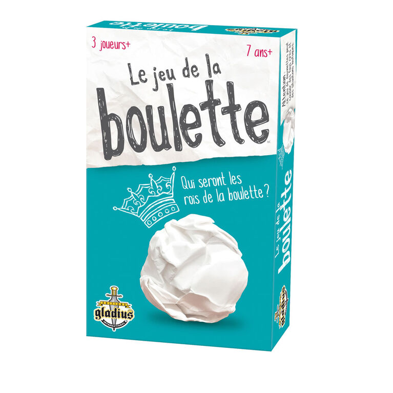 Jeu de la boulette - French only