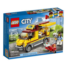LEGO City Le camion à pizza 60150