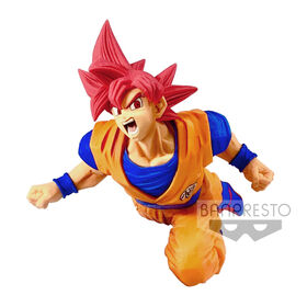 Banpresto Dragon Ball Super Son Goku Fes!! Vol.9 - Super Saiyan God Figure - English Edition