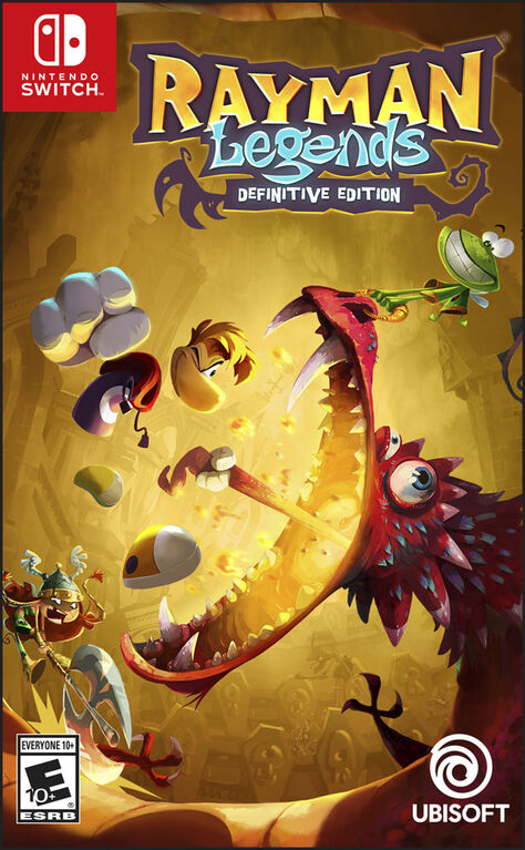 Nintendo Switch -  Rayman Legends