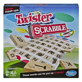Twister et Scrabble, deux grands jeux réunis - Édition anglaise - R Exclusif