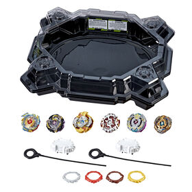 Beyblade Burst Evolution Ultimate Tournament Collection Tops and Beystadium - Exclusive - R Exclusive