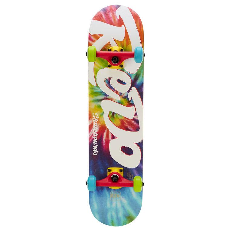 Redo Viibes Pop Tie Dye Skateboard - R Exclusive