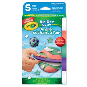 Crayola - Air-Dry Clay, Single Packs