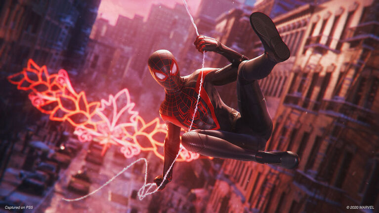 PlayStation 4 Marvels Spiderman Miles Morales
