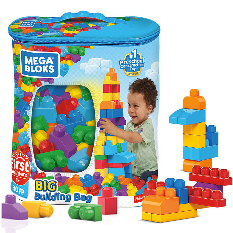 Mega Bloks - First Builders - Big Building Bag (Classic)