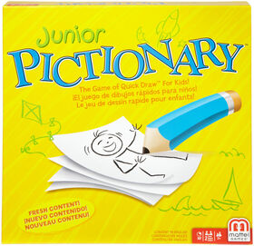 Junior Pictionary Game - English Edition