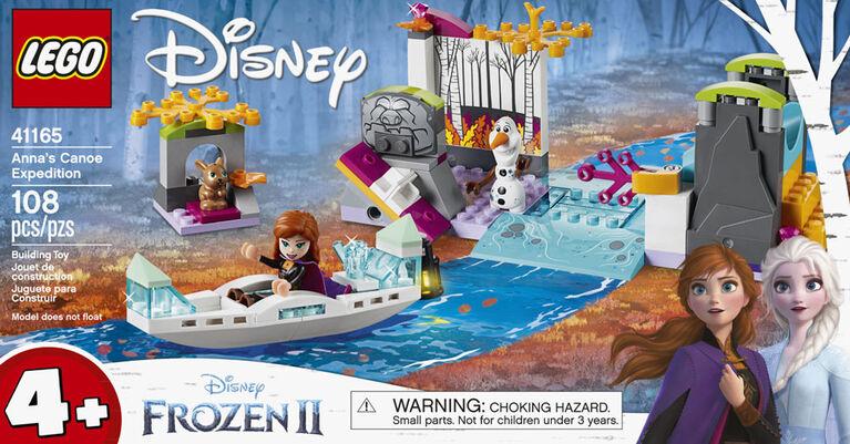 LEGO Disney Princess L'expédition en canoë d'Anna 41165