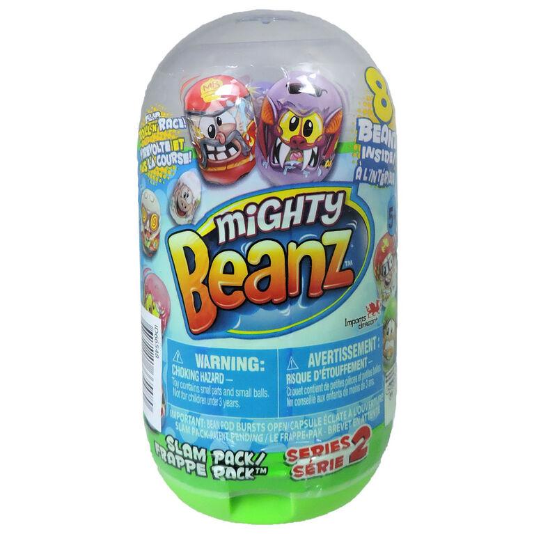 Mighty Beanz - Emballage de 8 - Frappe-Pak - Saison 2.