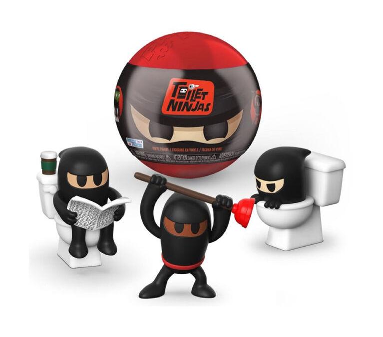Funko Paka Paka Toilet Ninjas (Blind Box, One Figure)