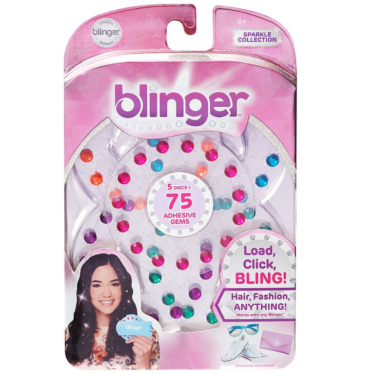 Blinger 5 Piece Refill Pack - Sparkle Collection - Rainbow Pack